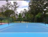 sơn sân tennis Đà lạt