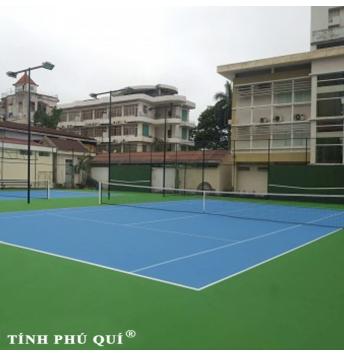 sơn sân tennis 7 lớp