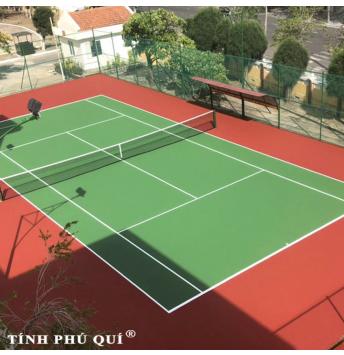 sơn sân tennis 7 lớp plex